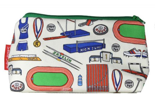 Selina-Jayne Track and Field Limited Edition Designer Cosmetic Bag